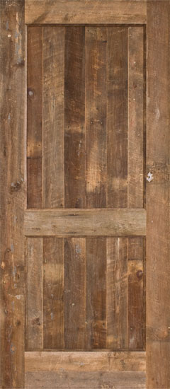 Barnwood doors barn door made entirely out of reclaimed for Reclaimed wood manufacturers