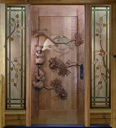 Carved Accents, Metal Panels & Textures